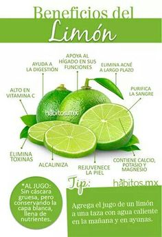 Agrega el jugo de un limón a una taza con agua caliente, por la mañana y en ayunas.