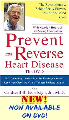 Prevent and Reverse Heart Disease!! A groundbreaking program backed by the irrefutable results from Dr. Esselstyn's 20-year study proving changes in diet and nutrition can actually cure heart disease. By Caldwell B. Esselstyn, Jr. M.D.