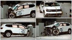 Новый краш тест автомобиля Volkswagen Atlas 2018 на скорости 50 км/ч для оценки уровня безопасности водителя и пассажиров по европейским стандартам. http://autoinfom.ru/krash-test-volkswagen-atlas-2018/