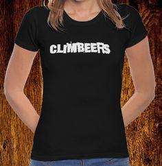 CLIMBEERS T-SHIRT M €12.50 T Shirts For Women, Tops, Fashion, Bouldering, T Shirts, Women, Moda, Fashion Styles, Fashion Illustrations