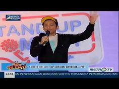 Muhadkly Acho, Vicko & Temon ~ Stand Up Comedy Terbaru 2015 Metro TV FULL