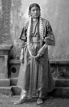 Shooting Star A Dakota Native American Woman
