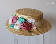 Articles similaires à Canotier Galatasaray sur Etsy Boater Hat, Wide-brim Hat, Diy Hat, Black Box, Repeating Patterns, Magnolia, Hawaii, Barbie, Etsy