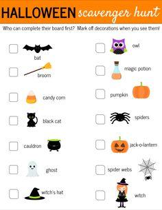 Halloween-Scavenger-
