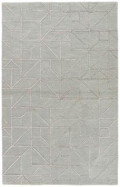 Jaipur Living City CT97 Gray/Silver Geometric Area Rug