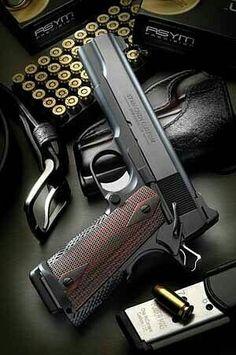 1911 Pistol, Revolver, 1911 Grips, Weapons Guns, Guns And Ammo, Rifles, Firearms, Shotguns, Military Guns