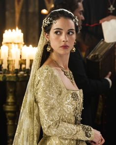 Adelaide Kane as Mary Stuart in Reign (TV Series, 2017). [x]