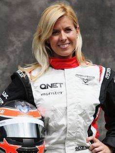 The family of Formula 1 test driver Maria De Villota consider claiming compensation over her crash. Formula 1 Girls, Formula One, Women Drivers, F1 Drivers, F1 Racing, Drag Racing, Grand Prix, Marussia F1, F1 Crash