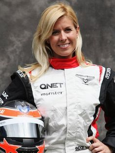 Maria de Villota after crash get well soon from all f1 fans