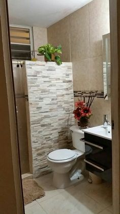 48 most popular basement bathroom remodel ideas on a budget low ceiling and for small space 29 Bathroom Plans, Bathroom Interior, Bathroom Renovation Diy, Basement Bathroom Remodeling, Bathroom Decor Apartment, Bathrooms Remodel, Bathroom Makeover, Small Space Bathroom, Bathroom Design Small