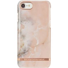 Pink Marble iPhone 7 (€42) ❤ liked on Polyvore featuring accessories, tech accessories, phone cases and tecnologia