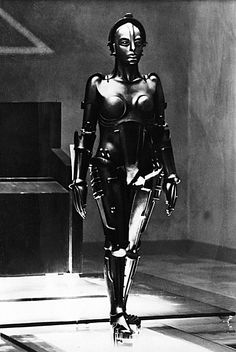 """Brigitte Helm in a scene from """"Metropolis,"""" directed by Fritz Lang, © UFA / The Kobal Collection Metropolis Poster, Metropolis Fritz Lang, Metropolis 1927, Metropolis Robot, Tv Movie, Movies, Science Fiction, Erich Von Stroheim, Classic Sci Fi"""