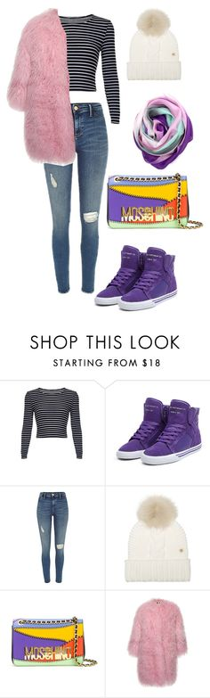 """❄️"" by lolyspa ❤ liked on Polyvore featuring Woolrich, Moschino, MSGM and La Fiorentina"