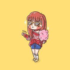 K Pop, Attractive Wallpapers, Anime Sisters, Bobby Brown Stranger Things, Divas, Cute Girl Drawing, Blackpink Memes, Kpop Drawings, Fan Art