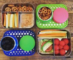 Lunchbox / Lunchbots / snack ideas for school