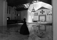 Shigeyuki Kihara: Agelu i Tausi Catholic Church After Cyclone Evan, Mulivai Safata Image Details Gallery Of Modern Art, Art Gallery, Samoan Women, Brisbane Queensland, Island Nations, White Pages, Film Stills, View Image, Catholic