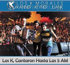 @LosKMorales , cantaron hasta las 5 AM - http://wp.me/p2sUeV-3Z9  - Noticias #Vallenato !