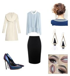 """""""Work"""" by flormanhana on Polyvore featuring J.W. Anderson and Alexander McQueen"""