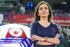 Heartiest #congratulations! to Mrs. Nita Ambani on being #elected into the International #Olympic_Committee.