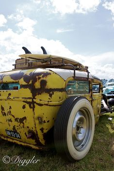// Yellow Rat Rod // by Dirk Repper on 500px