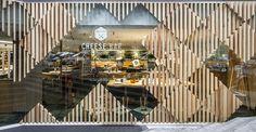 Cheese Bar at Hotel Meliá Sarriá by estudiHac designs, Barcelona Spain restaurant hotel hotels and restaurants bar
