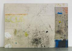 Oscar Murillo,  2012, acrylic, oil, oil stick, dirt on canvas and linen, 244 x 347 cm