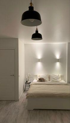 Home Room Design, Dream Home Design, Home Interior Design, Room Ideas Bedroom, Home Bedroom, Bedroom Decor, Bedrooms, Minimalist Room, Aesthetic Room Decor