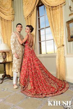 Beautiful #bridal #trail #gown by #traditions  36 The Broadway Southall UB1 1PT +44(0)208 606 9377  158 Green Street London E7 8JT +44(0)208 821 0079  sales@traditionsonline.co.uk www.traditionsonline.co.uk  Make Up & Hair: Arpita Earrings/Necklace: Anees Malik Ring: Lotus London