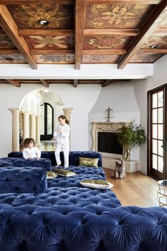 Tour Ziggy Marley's Elegant Yet Family-Friendly California Home | Architectural Digest Condo, Toluca Lake, Design Salon, Interiors Magazine, Home Comforts, Home Trends, Celebrity Houses, California Homes, Architectural Digest