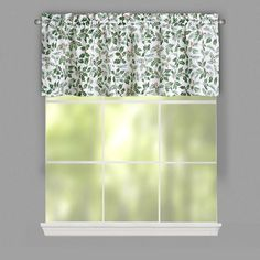 """Lichtenberg Top of the Window Holiday Window Valance, 54x17"""" Christmas Holly NEW #Lichtenberg #Holiday"""