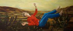 The harvest, 260 x 110 cm, oil on canvas, 2017