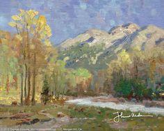 High Country Meadow by Thomas Kinkade  January 2000