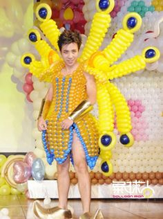 Balloon Dress, Balloons, Make It Yourself, Grande, Dresses, Clothing, Design, Ideas, Carnival