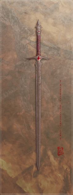 Arharken by Aikurisu- I once made 4 swords, mine was stolen. Would love to make more!!