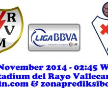 Prediksi Rayo Vallecano vs Eibar 4 November 2014