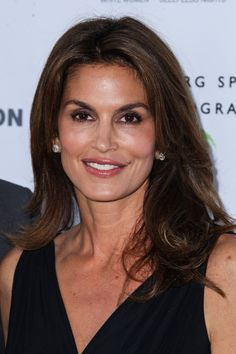 Cindy Crawford attends The Annenberg Space for Photography: Helmut Newton Exhibition Opening Night in Los Angeles. (June 27, 2013)