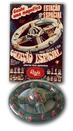 Raja Portugal Ice Cream 1970 Cream Cups, Ice Cream, Sound & Vision, Vintage Advertisements, Portugal, Advertising, 1970s, Space Station, Ice