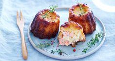 Cannelés saumon, Voir la recette des cannelés saumon