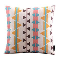 Lovely Fishes Cotton/Linen Decorative Pillow Cover – AUD $ 18.05