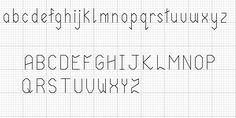 tpiash cross stitch alphabet back stitch