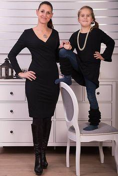 Čierna tunika s volánom pre malú elegantnú dámu #detskamoda#jedinecnesaty#handmade#originalne#slovakia#slovenskydizajn#móda#šaty#original#fashion#dress#modre#ornamental#stripe#dresses#vyrobenenaslovensku#children#fashion#rucnemalovane Peplum Dress, Dresses, Fashion, Tunic, Vestidos, Moda, Fashion Styles, Dress, Fashion Illustrations