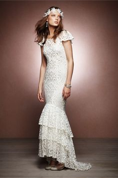 Flamenca Gown in SHOP The Bride Wedding Dresses at BHLDN