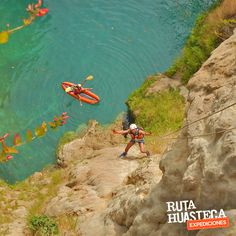 Disfruta de un descenso de 50 mts de altura a un costado de la Cascada de Minas Viejas  #WeLoveAdventure  www.rutahuasteca.com  +52 481 381 7358 WhatsApp: 481.116.5900 email: info@rutahuasteca.com #RutaHuasteca #SLP #Ecoturismo #TurismoDeNaturaleza #VisitMexico #Tours #TodoIncluido