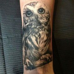 Owl tattoo #inspiration: