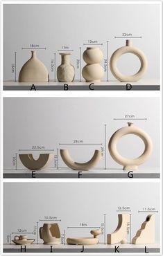 Diy Clay, Clay Crafts, Ceramic Vase, Ceramic Pottery, Flower Vases, Flower Pots, Parametrisches Design, Vases En Verre Transparent, Vase Vert