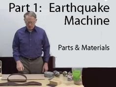 """Earthquake Machine: Parts and Construction - This video shows how to build the """"Earthquake Machine"""", a physical model that represents the """"earthquake cycle"""", the slow accumulation of elastic energy in rocks adjacent to a fault followed by rapid release of elastic energy during an earthquake. (IRIS - Incorporated Research Institutions for Seismology)"""