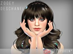 Hey guys, this is my version of Zooey Deschanel. Hope you guys like her :)  Found in TSR Category 'Sims 4 Young Adult Female Sims'