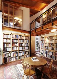 Beautiful Modern Home Libraries