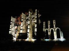 Les ruines de l'abbaye de Saint-Bertin, Saint-Omer | Normandie