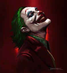 """Joker by datrinti "" Joker Comic, Le Joker Batman, Joker Film, Batman Comics, Joker And Harley Quinn, Gotham Batman, Batman Art, Batman Robin, Comic Art"